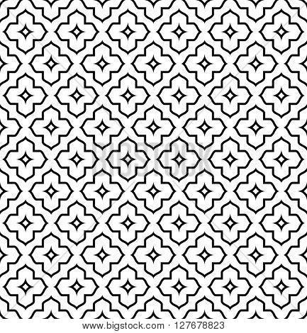 Islamic Pattern Seamless Ornament