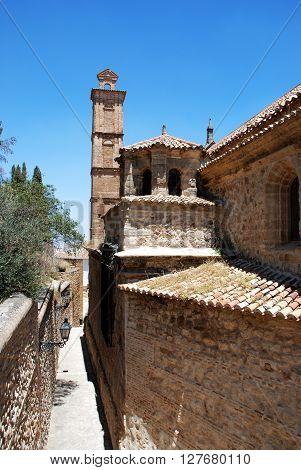 West side of Santa Maria church Antequera Malaga Province Andalucia Spain Western Europe.