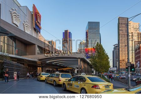 Crown Casino Entrance, Melbourne Cbd