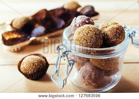 Pralines In The Jar