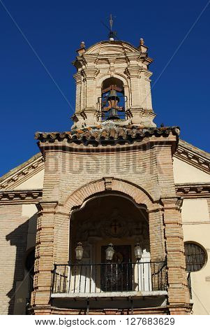 St James church bell tower (Iglesia de Santiago) Antequera Malaga Province Andalucia Spain Western Europe.