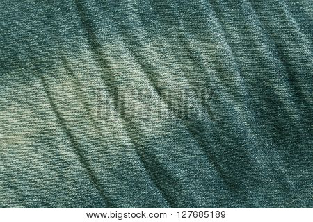 Green Denim Texture.