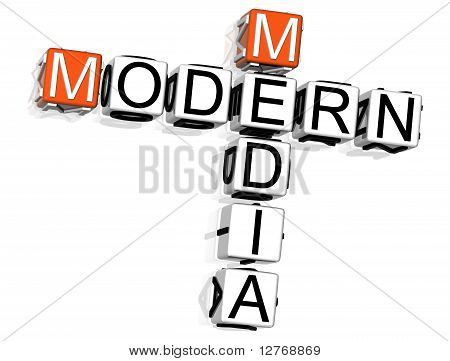 Modern Media Crossword