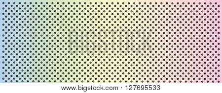 High resolution concept conceptual colorful rainbow metal stainless steel aluminum perforated pattern texture mesh banner background