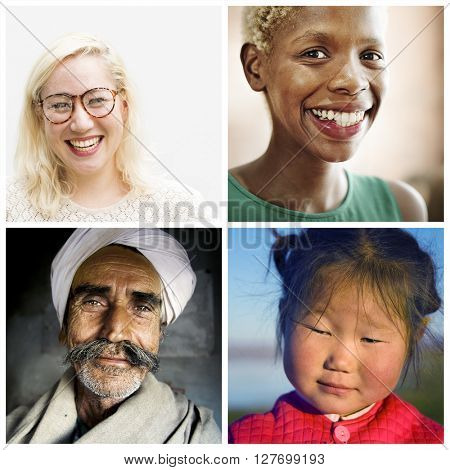 Human Ethnicity Humanism Collection Concept