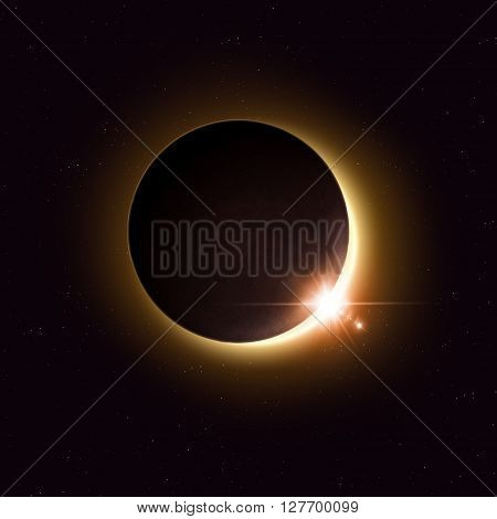 Space Solar Eclipse