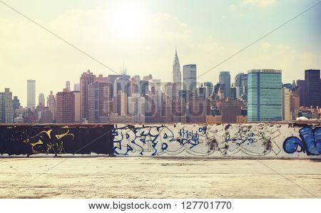 Cityscape Downtown Skyline Urban Scene Concept