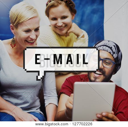 E-mail Technology Correspondence Connecting Concept