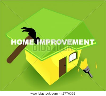 Home Improvement Icon - Vector