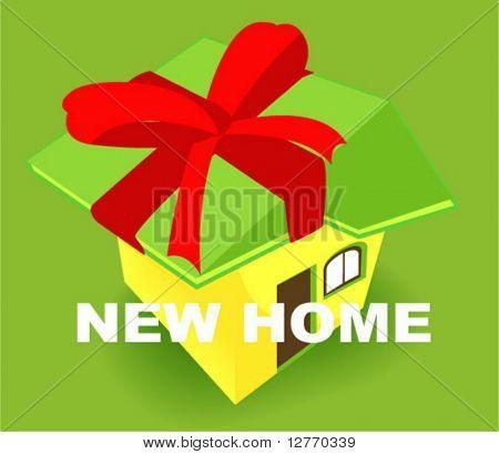 New Home Icon - Vector