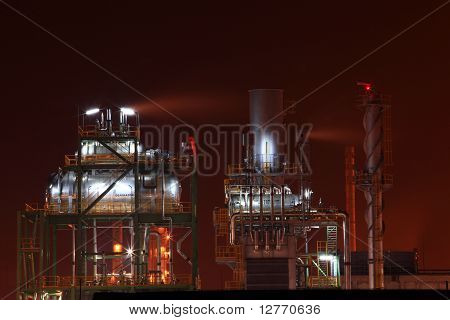 petrochemical oil refinery factory