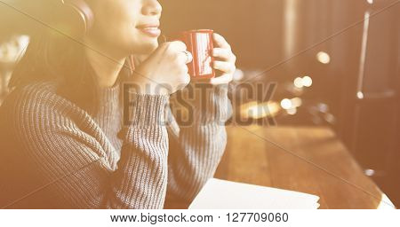 Coffee Break Recreation Relaxation Concept