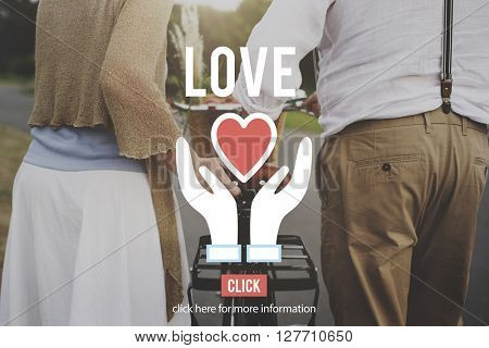 Love Charity Organization Social Help Concept
