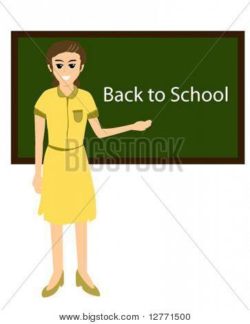 Teacher - Vector