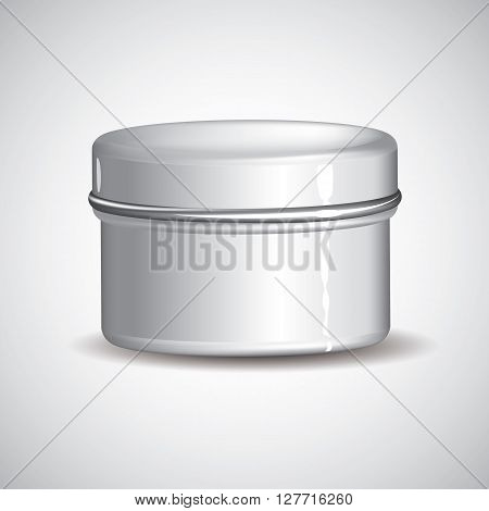 Customizable Cream Jar