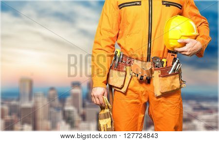 Electrician workwear.