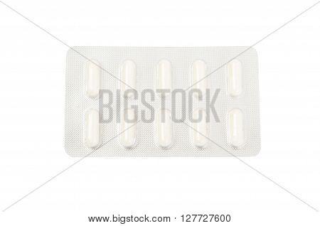 Blister Of White Pills