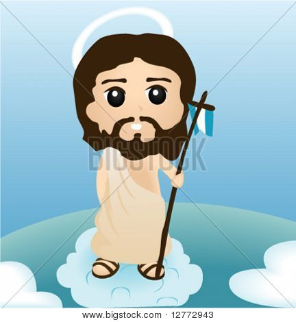 Resurrection of Christ - Vector