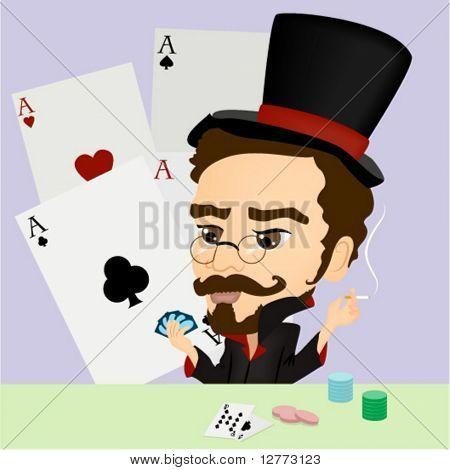 Gambler - Vector