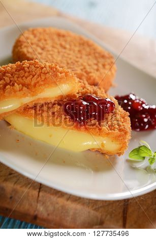 Cutlets With Melted Cheese