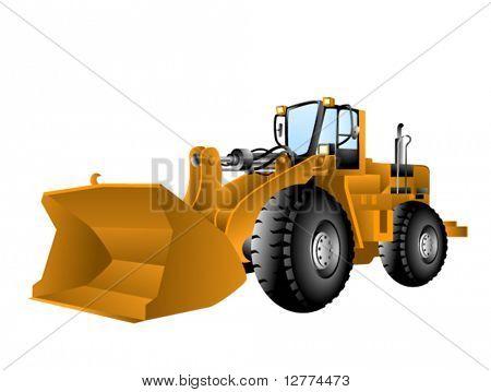 Wheel Loader - Vector