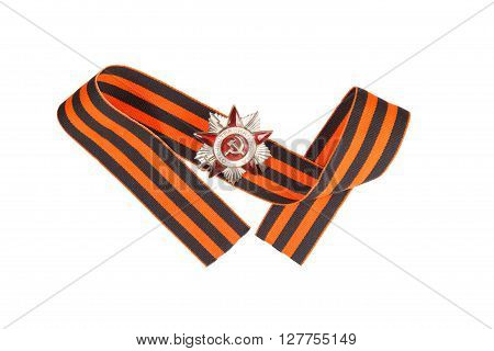 The Order Of The Great Patriotic War And St. George Ribbon. Illustrative Editorial.