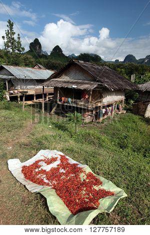 Asia Southeastasia Laos Vang Vieng Luang Prabang