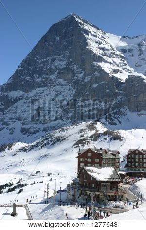 The Eiger From Grindelwald Swiss Alps 2