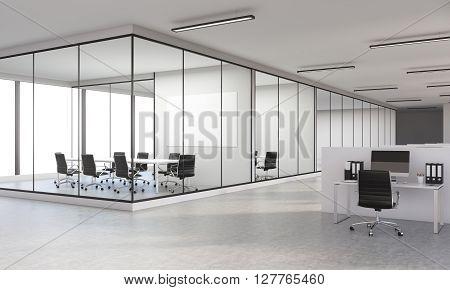 Office Interior Side