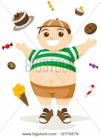 Fatty Foods - Vector