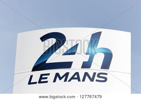 Le Mans, France - March 12, 2015: The 24 Hours of Le Mans is the world's oldest active sports car race in endurance racing, held annually since 1923 near the town of Le Mans, France and it is one of the most prestigious automobile races in the world