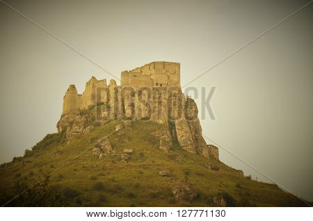 big medieval Spiš castle in eastern Slovakia