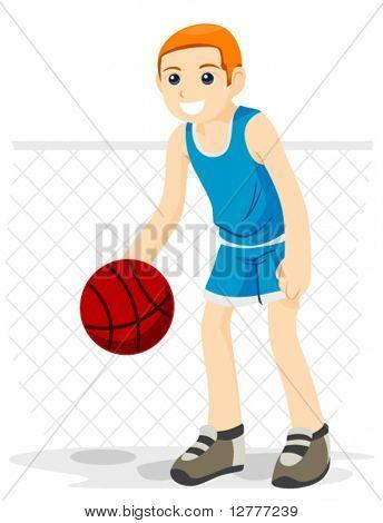 Basketball - Vector
