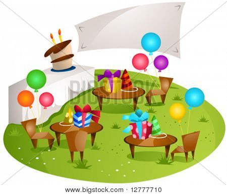 Party Place - Vector