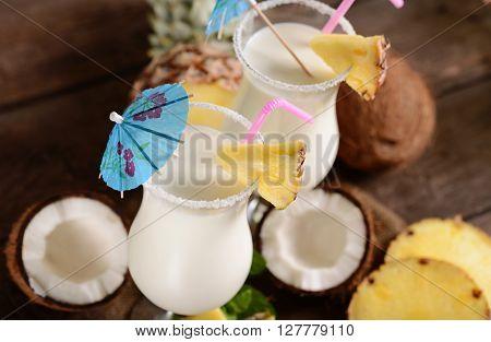 Pinacolada Drink