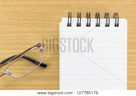 Notepad With Blank Page