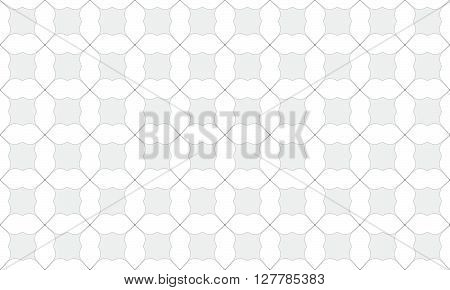 Black Dot Seamless Pattern Design. Seamless Pattern Design. Vector Stock.