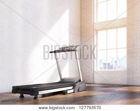 Treadmill In Interior Side