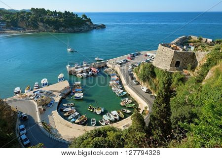 Ulcinj Marina And Fortification Of Stari Grad, Montenegro