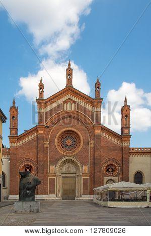 Church of Santa Maria del Carmine (Milan Lombardy Italy)