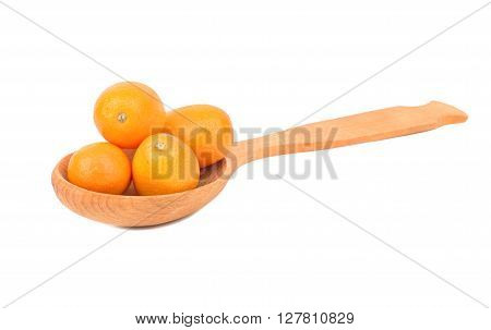 Kumquat Fruit In Spoon