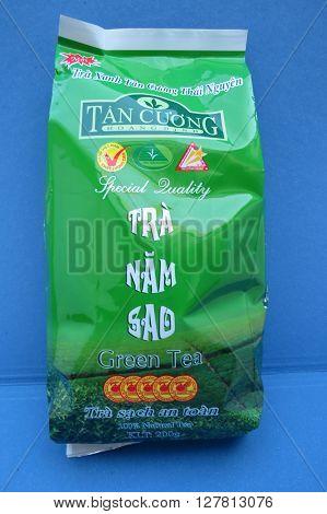 Tan Cuong - Tra Nam Sad Green Tea From Viet Nam