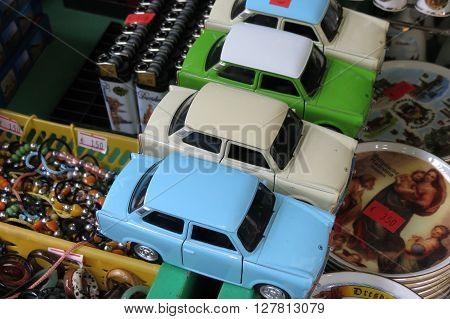 Trabant Car Toy Models