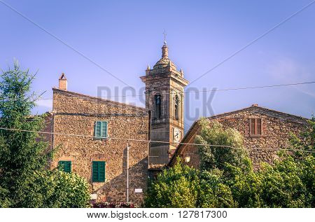 Church In Montisi, Tuscany