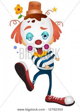 Cartoon-Clown-Vektor