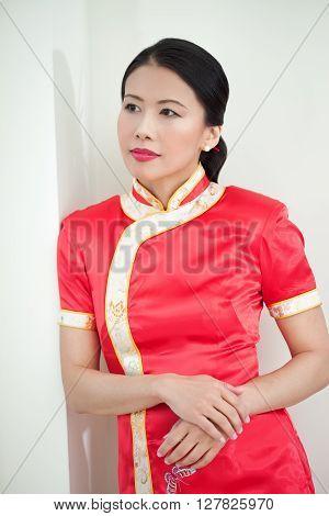 Beautiful Traditional Asian Woman