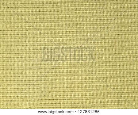 Old cloth canvas texture. Book cover closeup