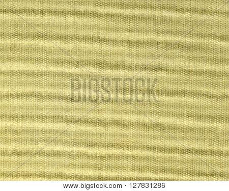 Old cloth canvas texture. Book cover closeup