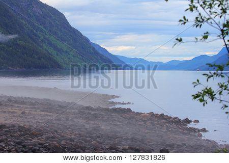 Morning Norwegian Landscape