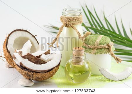 Coconut Products With Fresh Coconut